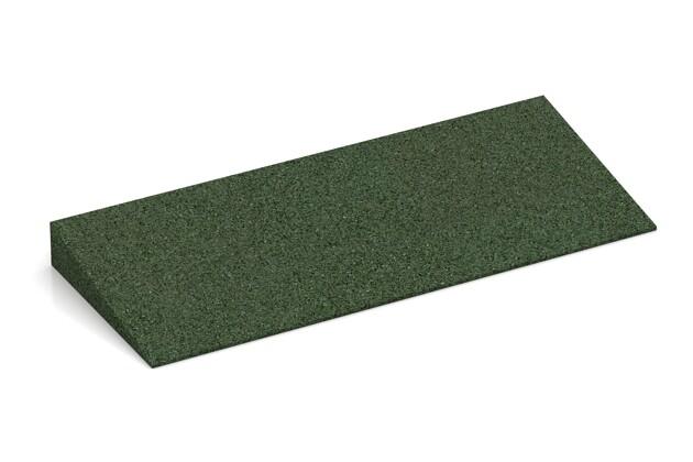 Bordure inclinée de WARCO en couleur Vert gazon au format 500 x 200 x 43/8 mm. La photo de l'article 2240 dans la vue complète de face.