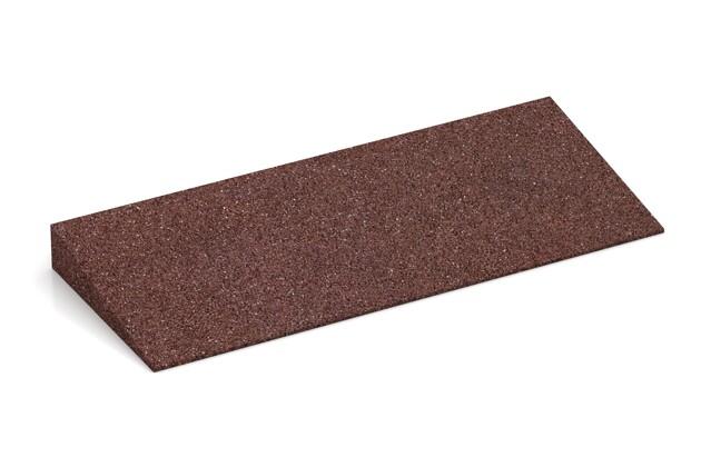 Bordure inclinée de WARCO en couleur Marron chocolat au format 500 x 200 x 43/8 mm. La photo de l'article 2238 dans la vue complète de face.