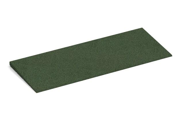 Bordure inclinée de WARCO en couleur Vert gazon au format 750 x 300 x 25/8 mm. La photo de l'article 2300 dans la vue complète de face.