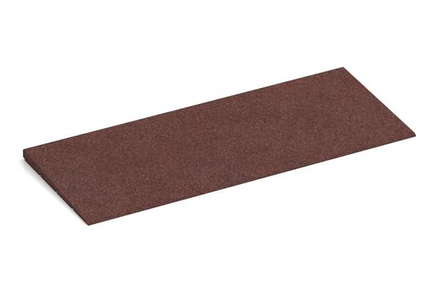 Bordure inclinée de WARCO en couleur Marron chocolat au format 750 x 300 x 25/8 mm. La photo de l'article 2299 dans la vue complète de face.