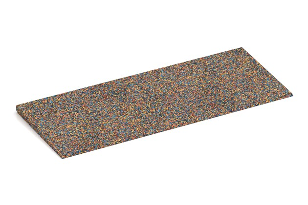 Bordure inclinée de WARCO en couleur Perroquet au format 750 x 300 x 25/8 mm. La photo de l'article 2273 dans la vue complète de face.